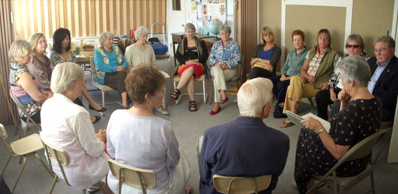Beatitudes community discussion photo